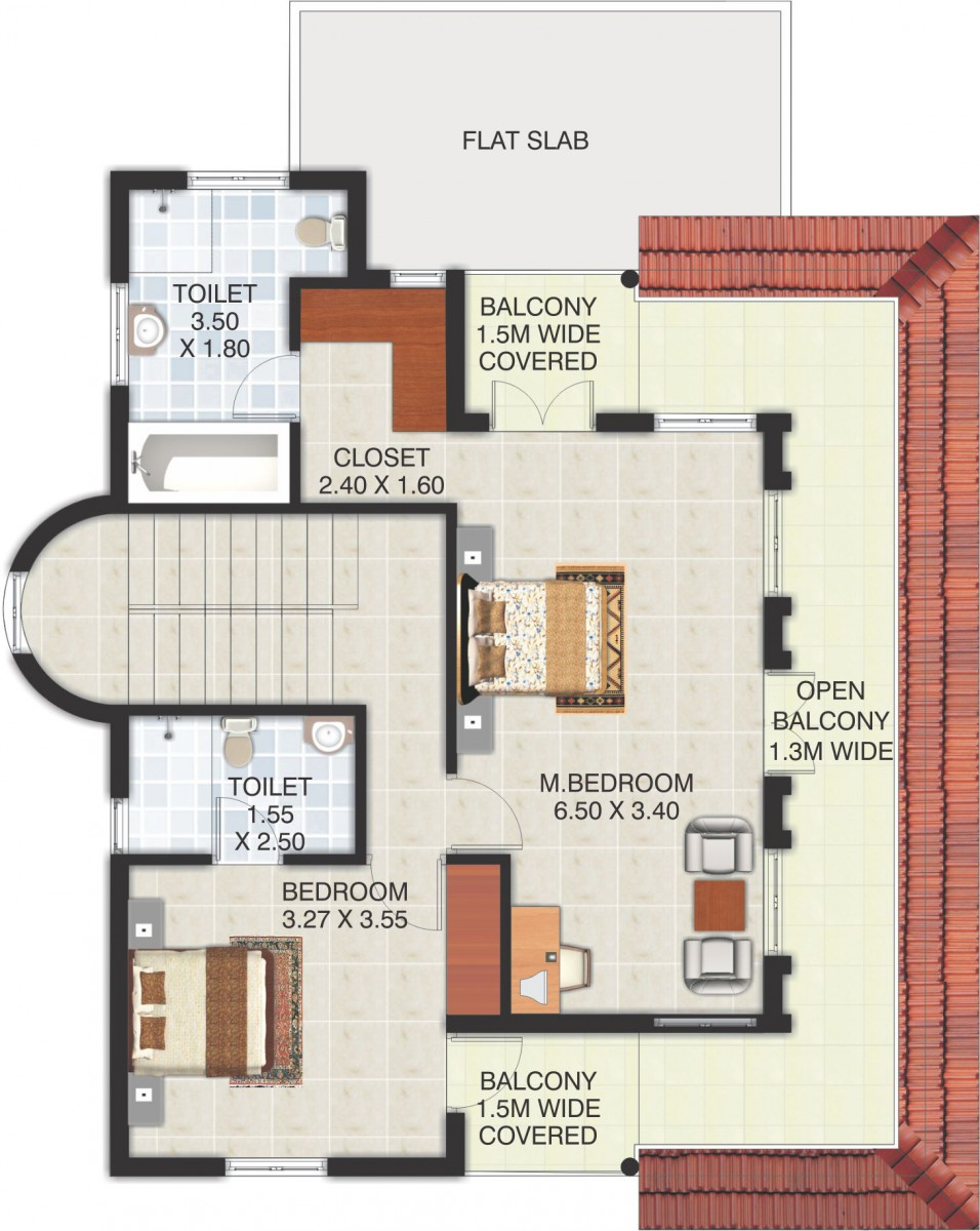 Colonia de flores at assagao goa cosme costa and associates Floor plans with pictures